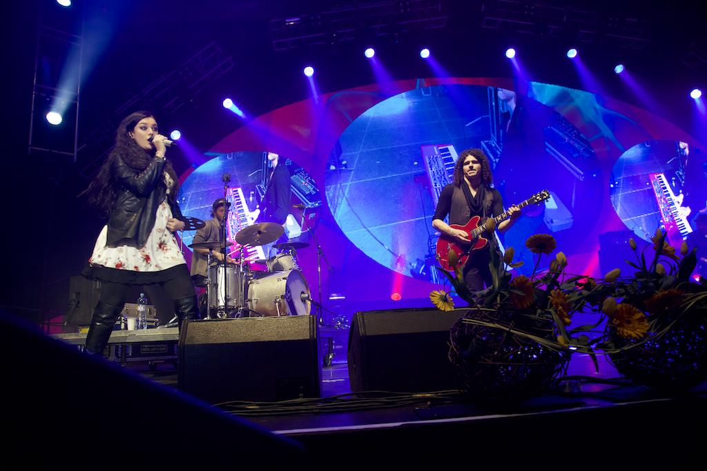 Megakoncert 2013 - vystoupení Ewy Farne