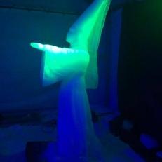 Ledové sochy - Pustevny