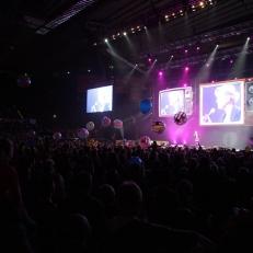 Megakoncert - pódium