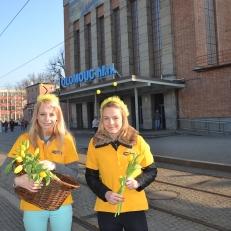 Radost v ulicích - nádraží v Olomouci