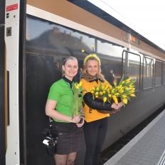 Radost v ulicích - nádraží v Olomouc