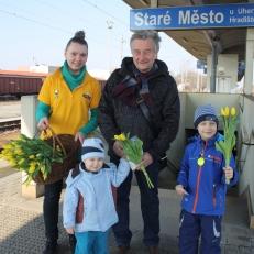 Radost v ulicích - nádraží Staré Město