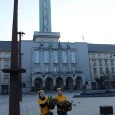Radost v ulicích - nová radnice Ostrava