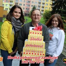 Jarmila Hurová vyhrala sladkou oslavu pro manžela k narozeninám