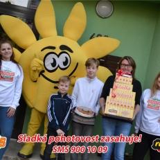 Lenka Adamcov† s rodinou