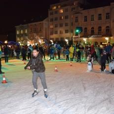 Vánoční kluziště - Masarykovo náměstí