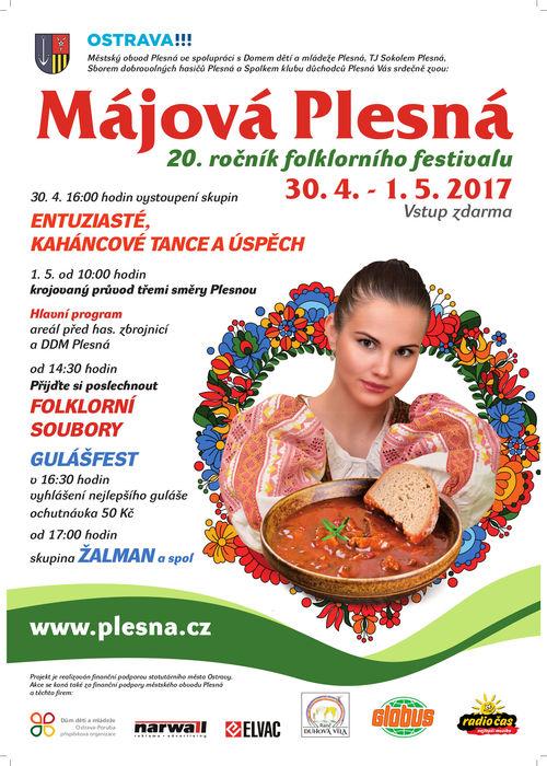 Májová Plesná!